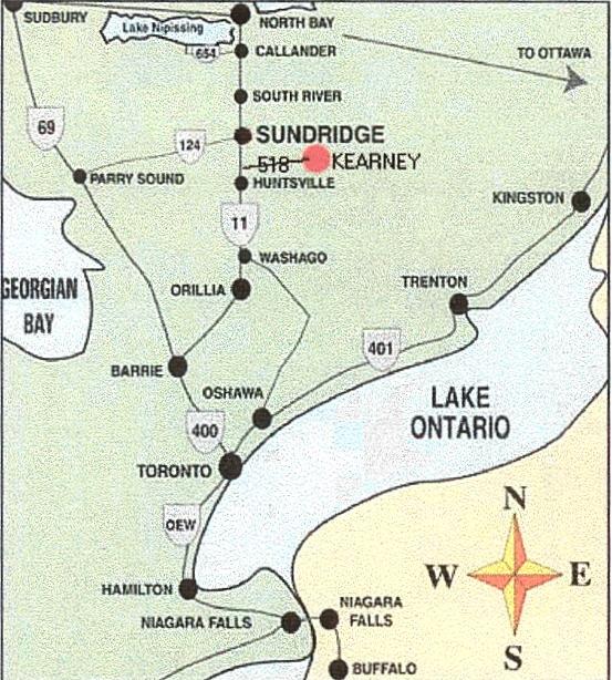 Rays Getaway in Kearney Ontario
